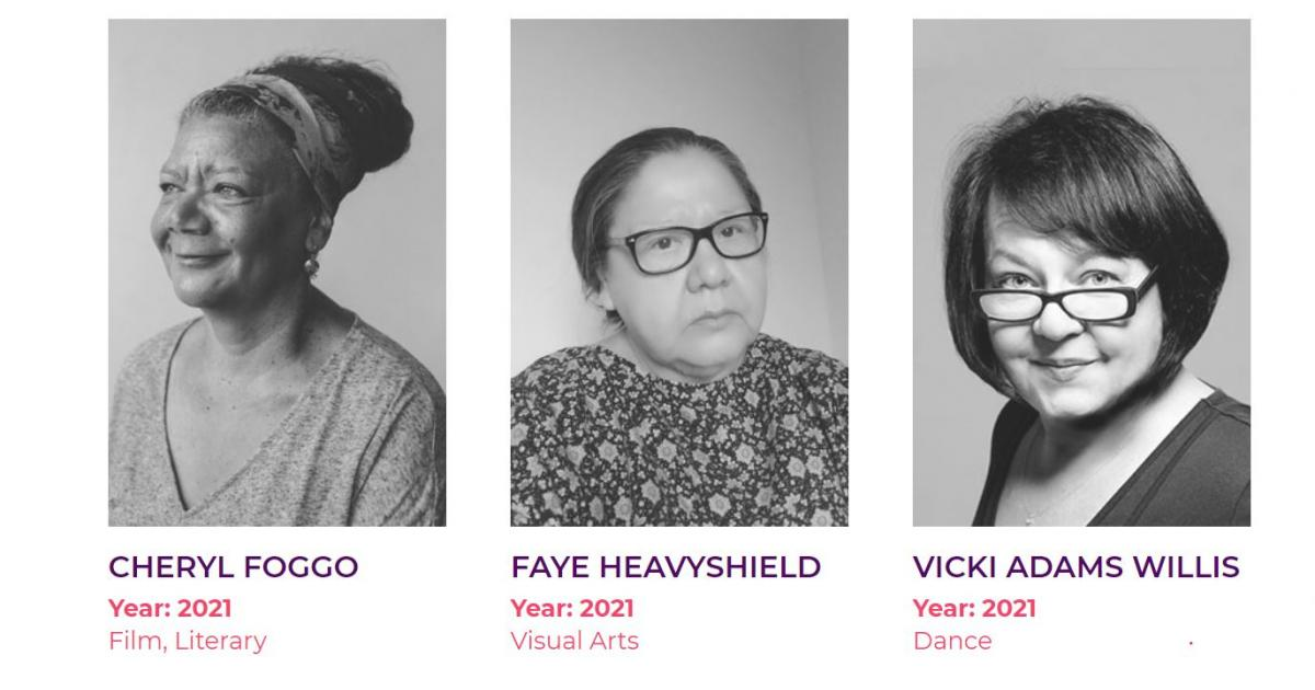 Link to Alberta's 2021 Distinguished Artists