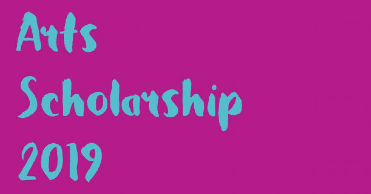 Link to Arts Scholarships to Fine Arts Students - deadline extended