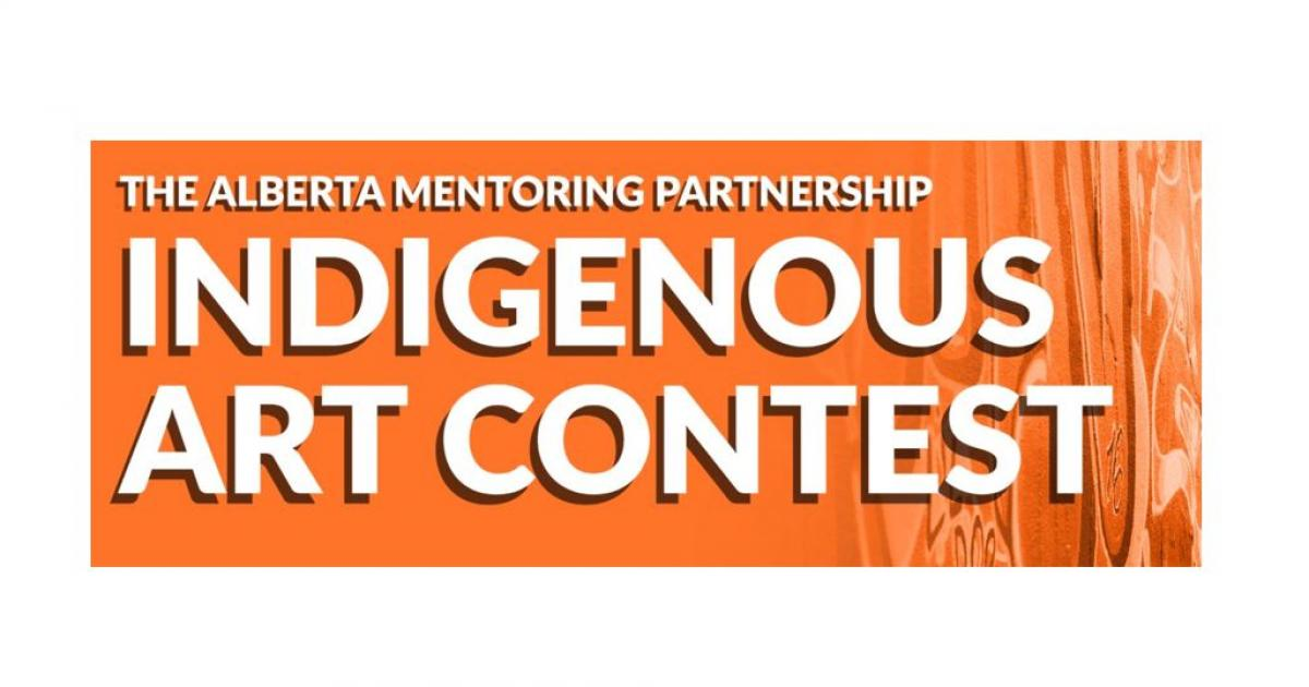Link to Alberta Mentoring Partnership's Indigenous Art Contest