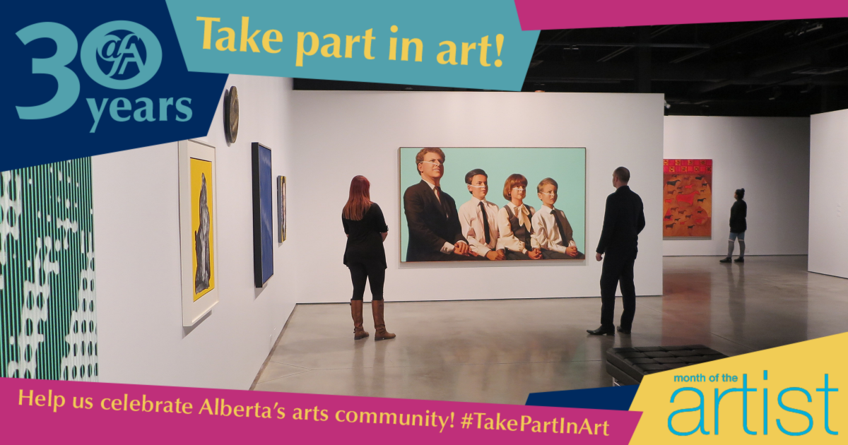 Link to Take part in art & celebrate 30 years of the AFA!