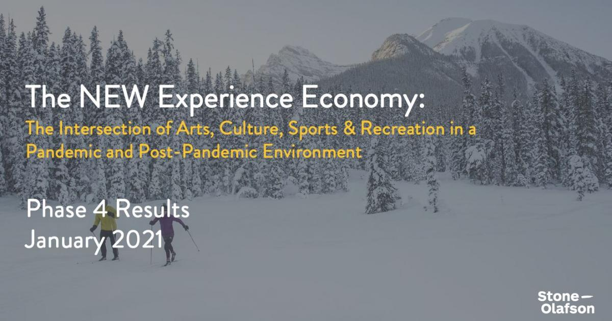 Link to Survey Results | The New Experience Economy - Wave 4