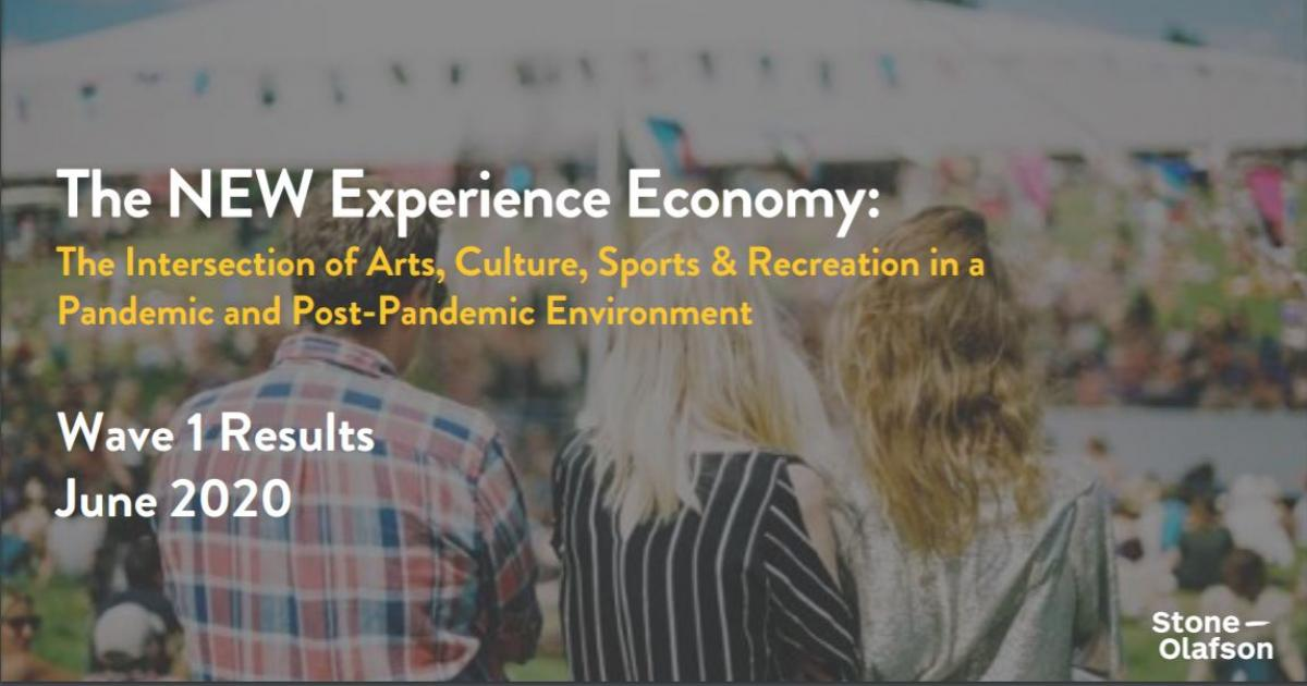 Survey Results | The New Experience Economy - Wave 1
