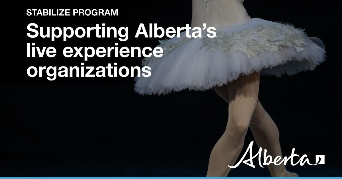 Link to More provincial support for the live events sector