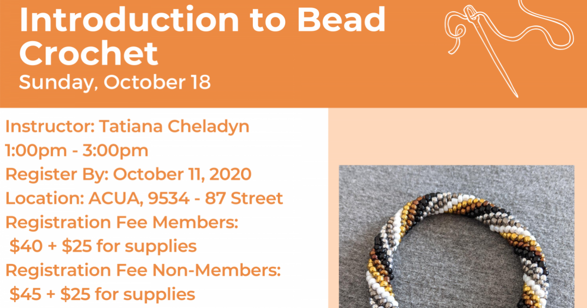 Link to Introduction to Bead Crochet Workshop