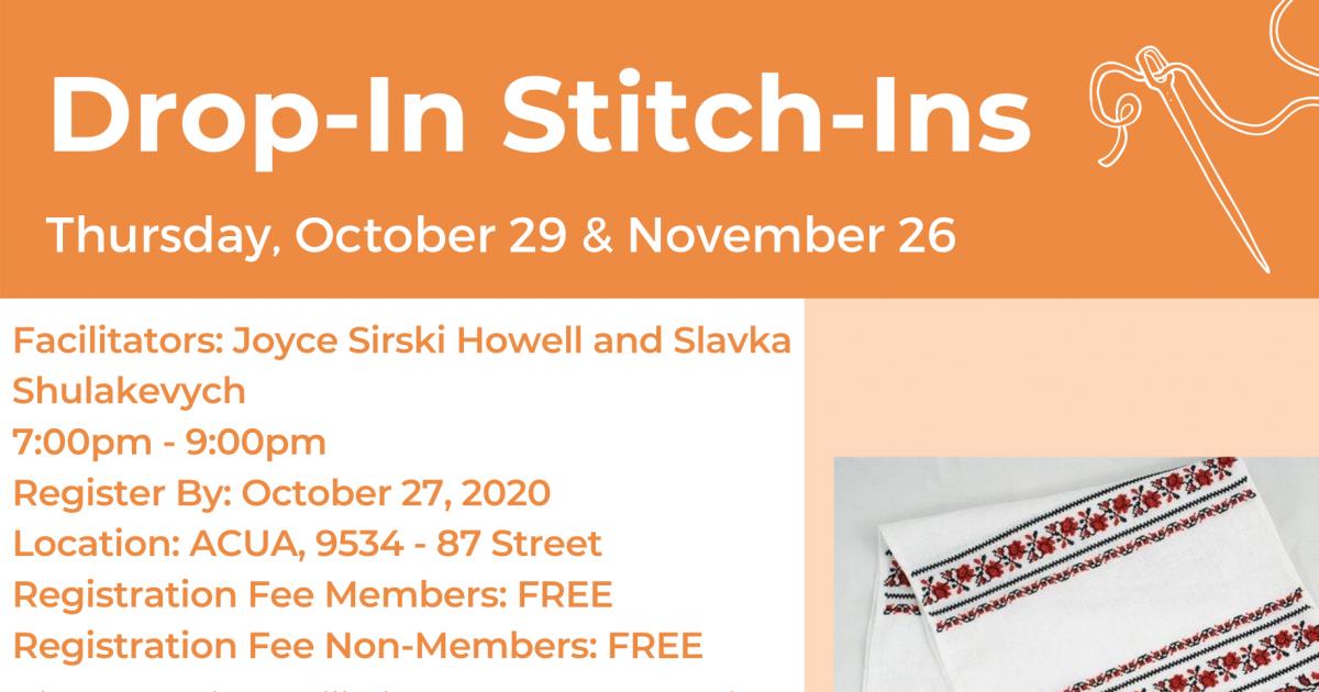 Drop-In Stitch-Ins