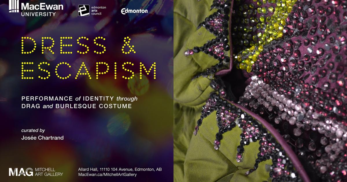 Link to New Exhibition | Dress & Escapism: Performance of Identity through Drag and Burlesque Costume