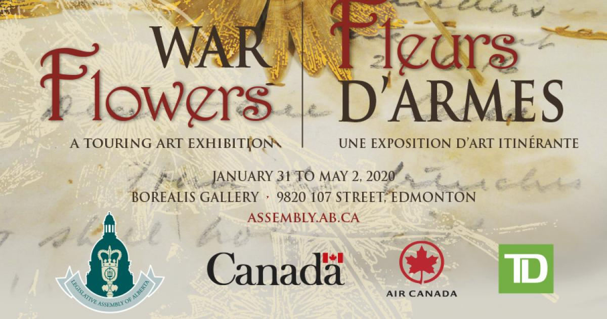 Link to WAR Flowers | A Touring Art Exhibition