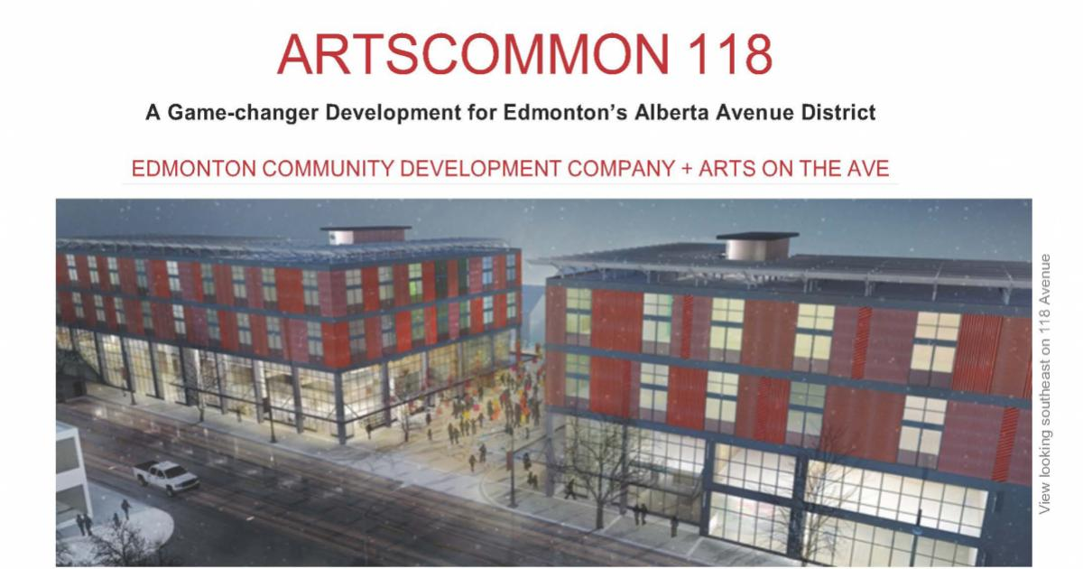 Link to Call for Expressions of Interest | ArtsCommon 118, Edmonton
