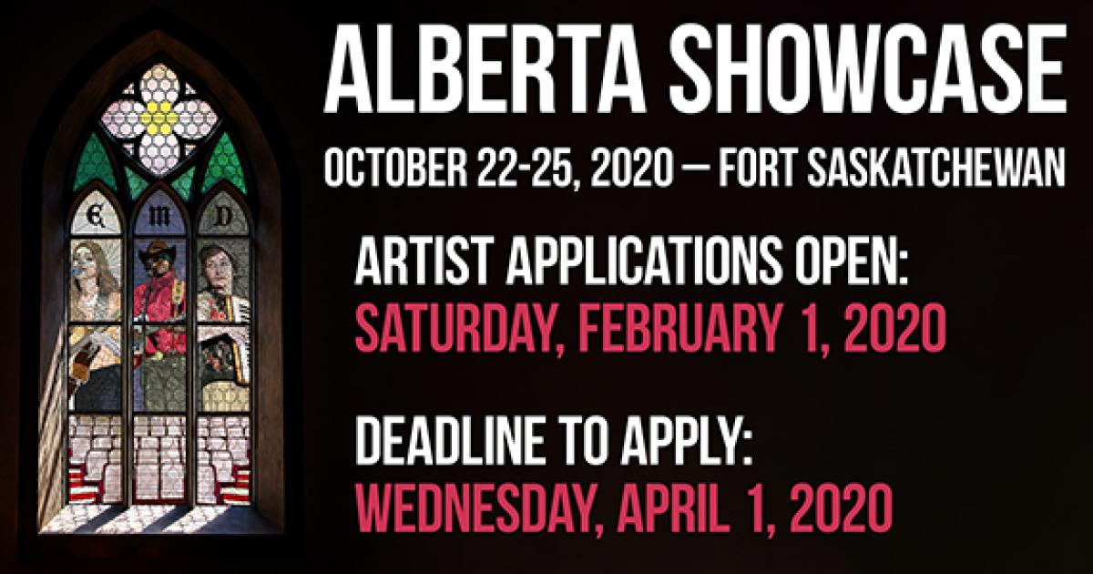 Link to Alberta Showcase 2020 | Artist Applications Open