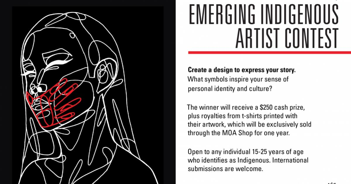 Link to Call for Submissions | 2021 MOA Shop Emerging Indigenous Artist Contest