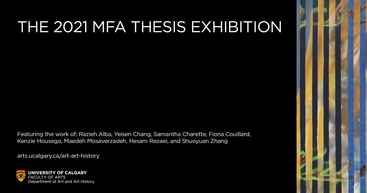 Link to The 2021 MFA Thesis Exhibition