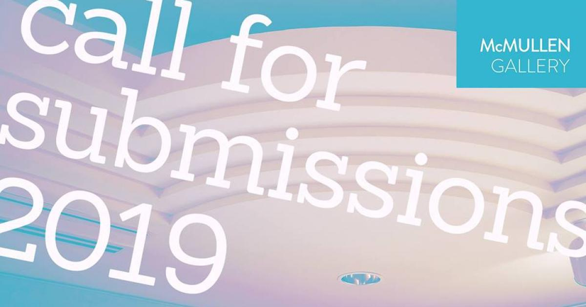 Link to McMullen Gallery | Call for Submissions