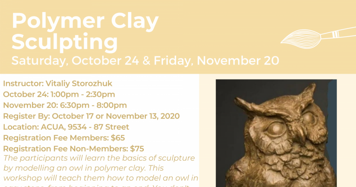 Link to Polymer Clay Sculpting Workshop