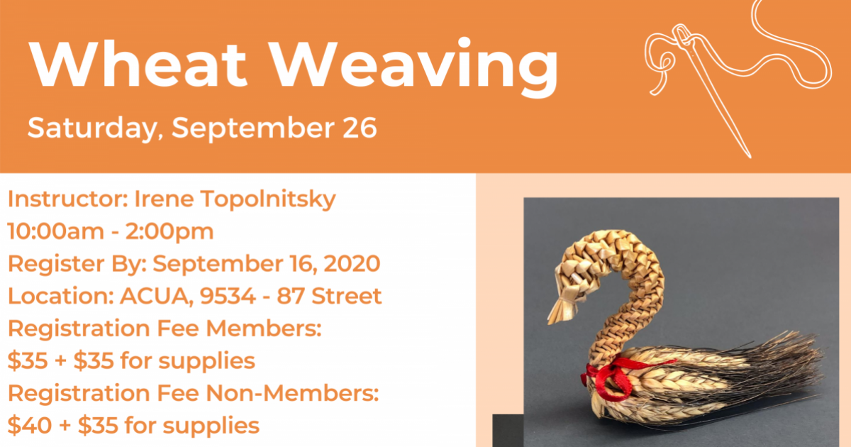 Link to Wheat Weaving Workshop