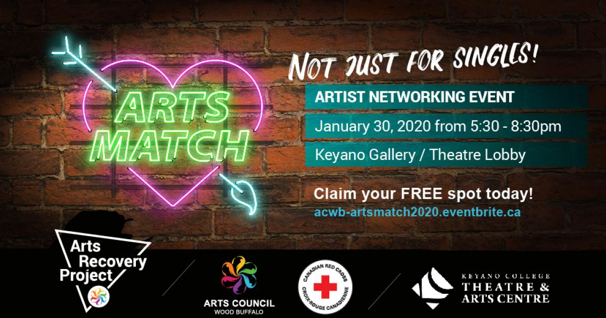 Link to Events | Make Your Arts Connections at Arts Match in Wood Buffalo