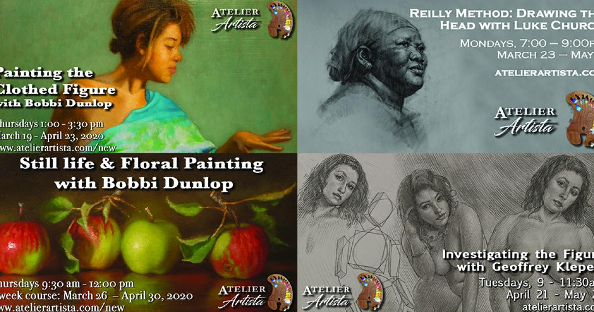 Link to Atelier Artista Offers Numerous Painting and Drawing Classes