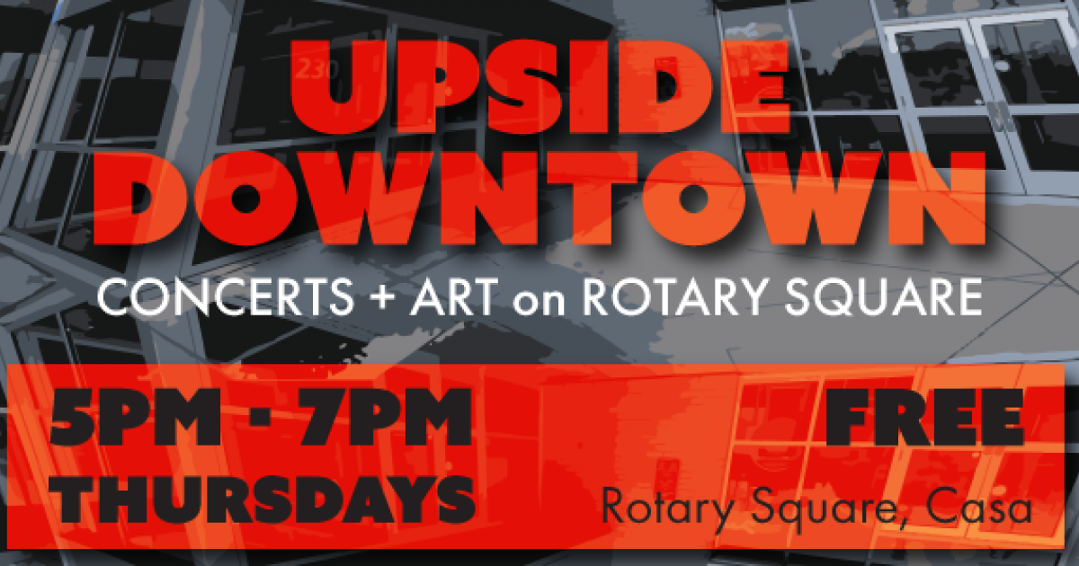 Link to Upside Downtown: Concerts + Art in Downtown Lethbridge