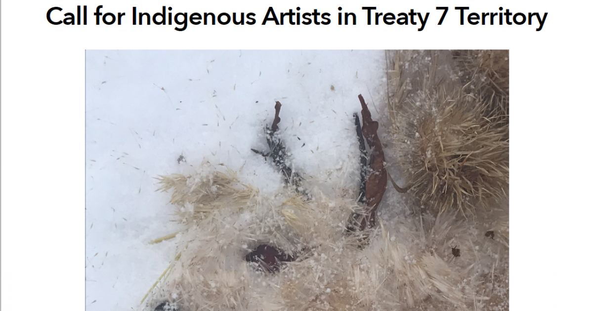 "Link to ""From the Land: Indigenous Ecological Art for a New Era""."