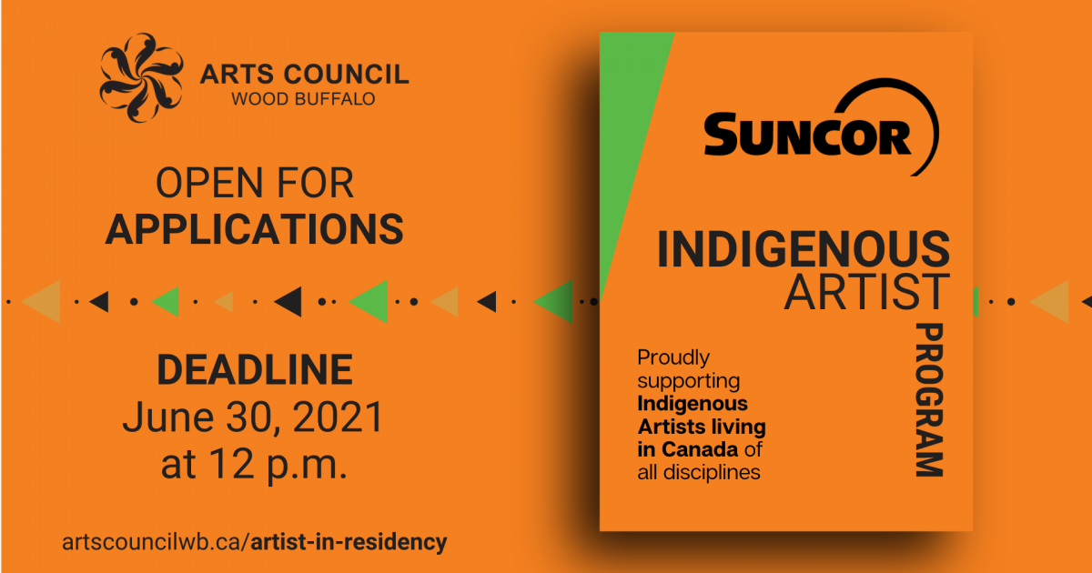 Link to Accepting Submissions | Suncor Indigenous Artist Program