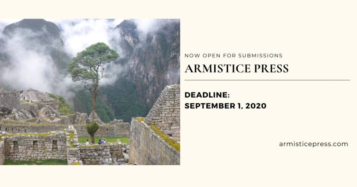 Link to Call for Submissions | Poetry Chapbook - Armistice Press