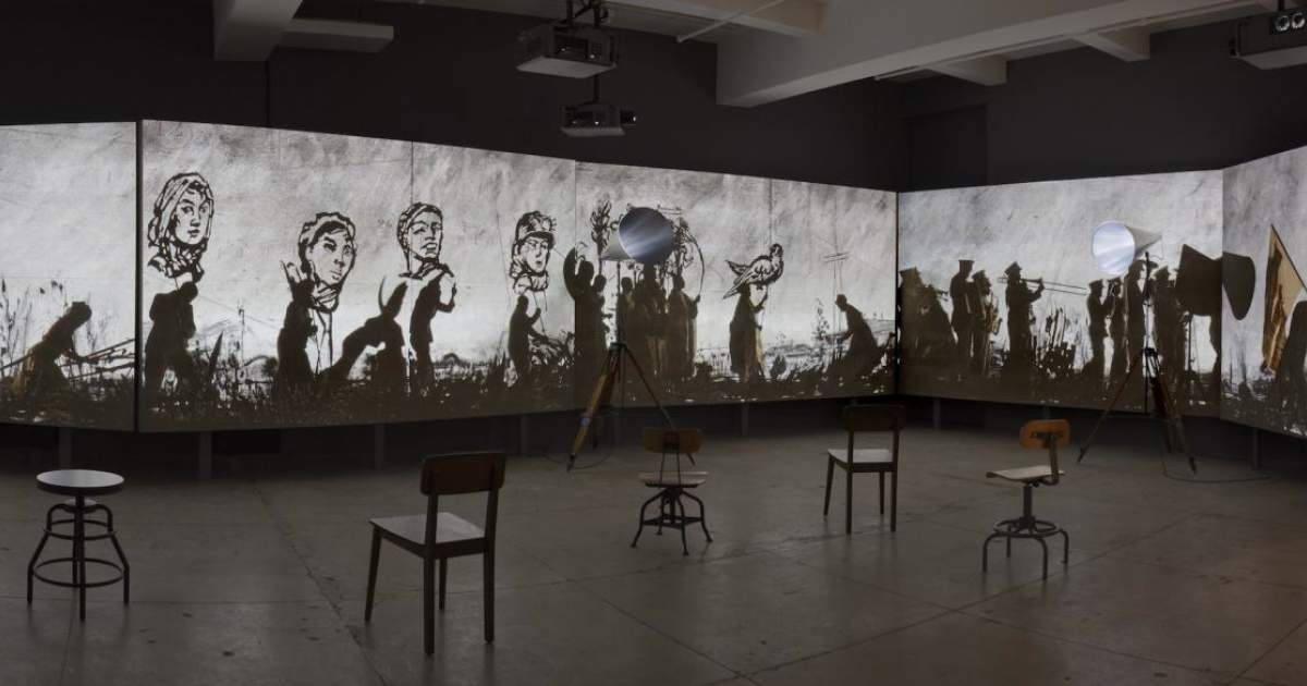 Link to Art For Lunch: William Kentridge