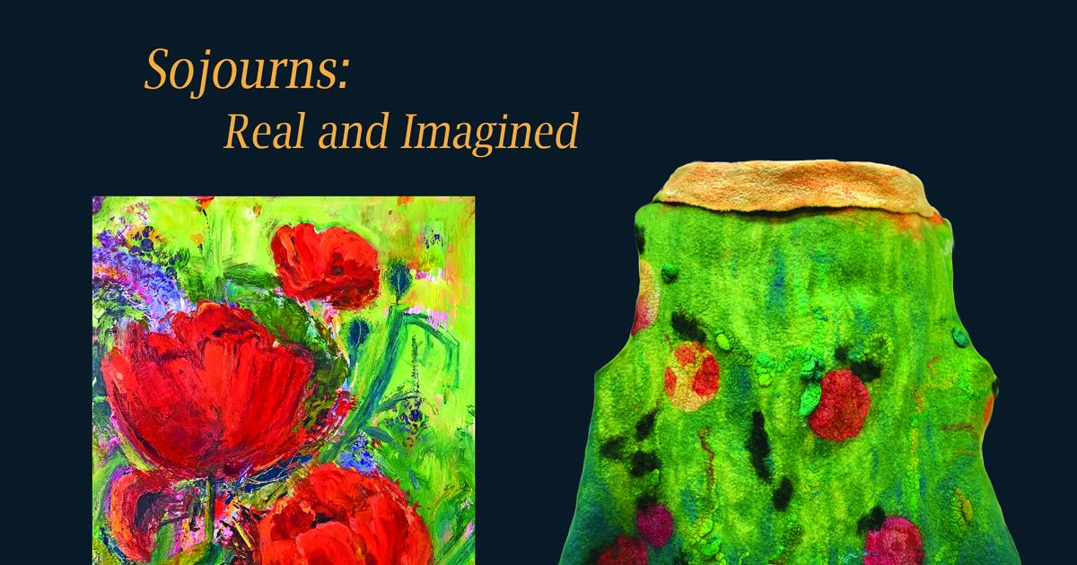 "Link to New Exhibition | ""Sojourns: Real and Imagined"""