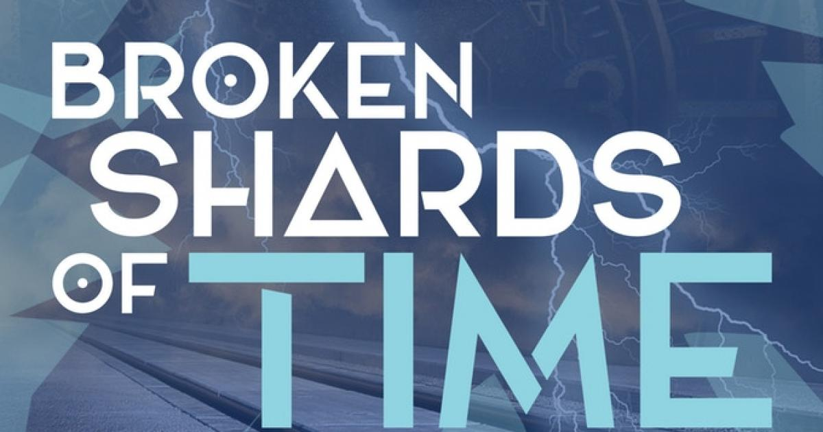 "Link to ""Broken Shards of Time"" by teen author, Nyah Nichol"