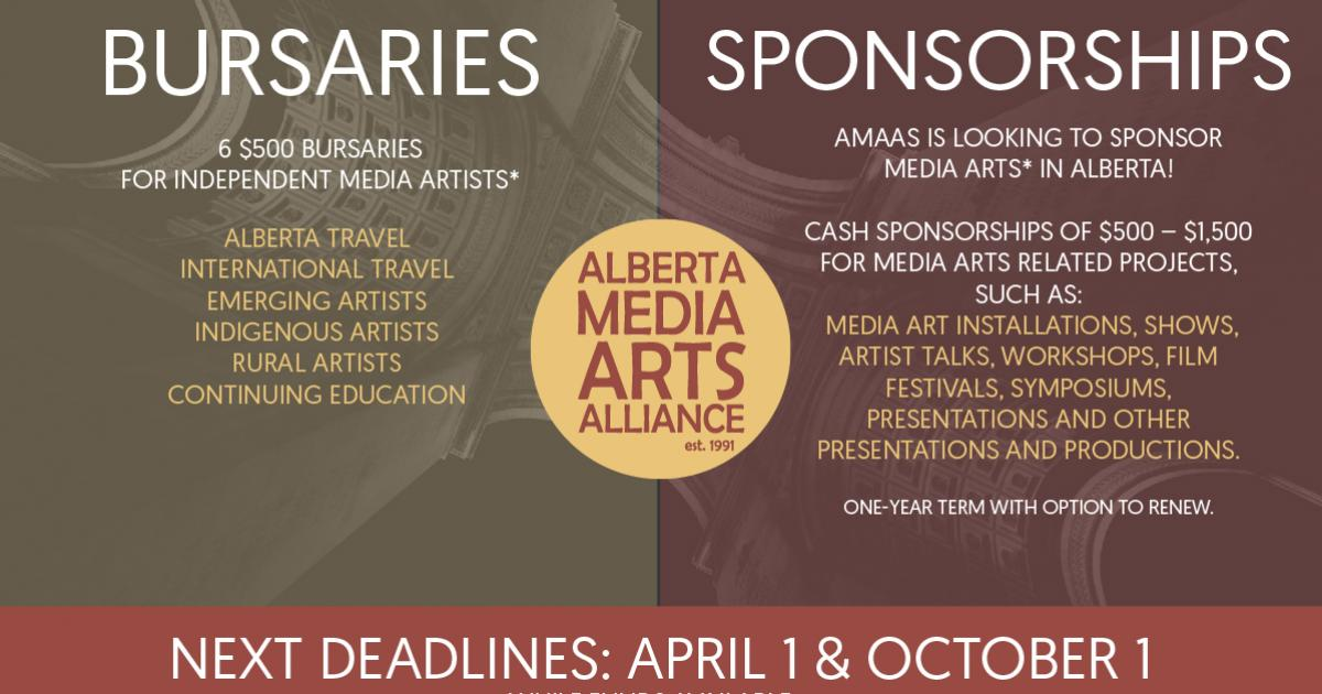 Link to AMAAS Sponsorship and Bursary Applications | Deadline April 1, 2021