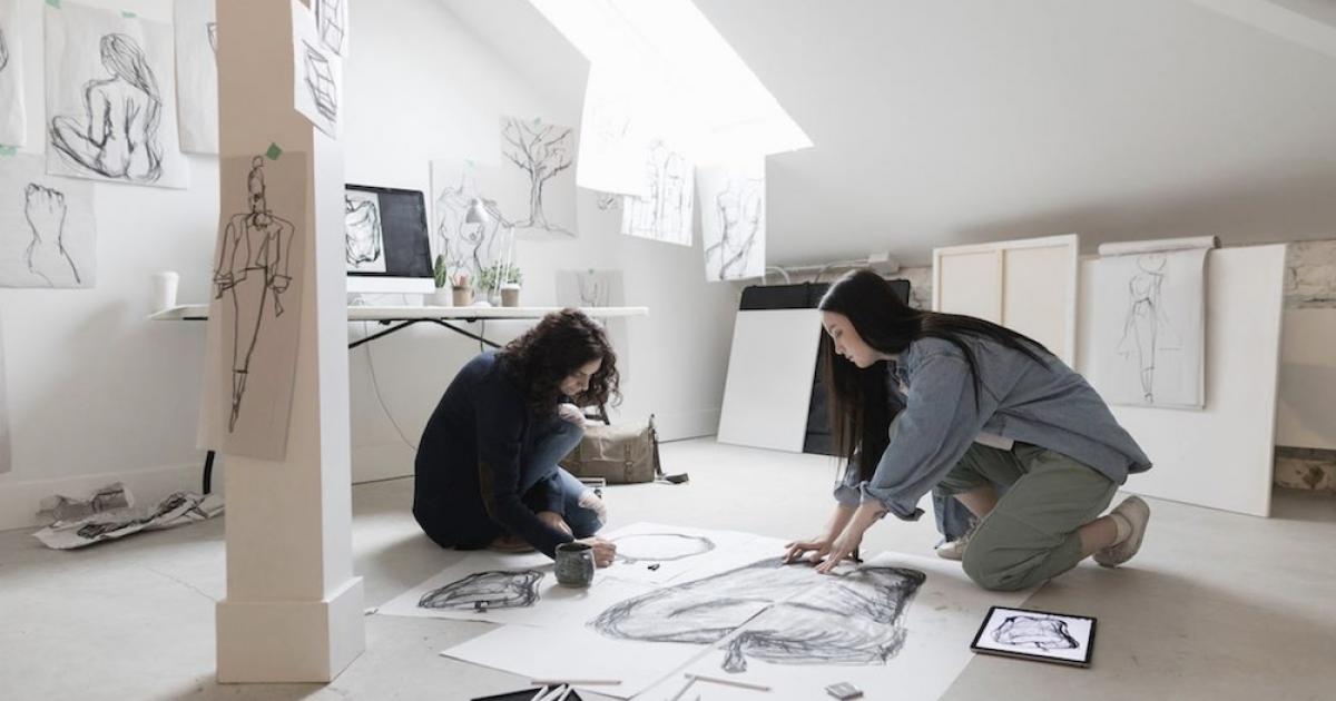 Link to 2022 CAAF Studio Residency Program