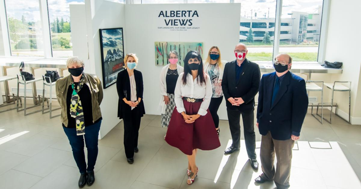 "Link to ""Alberta Views"" Virtual Artist Meet-and-Greet"