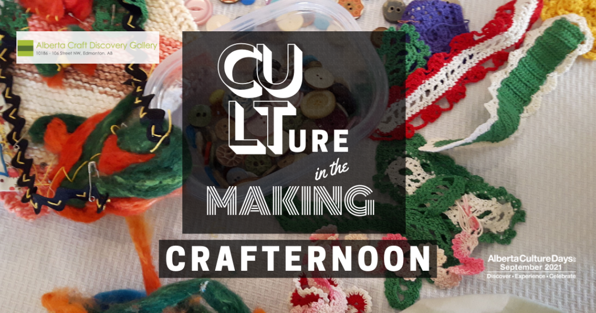 Link to Culture in the Making Crafternoon
