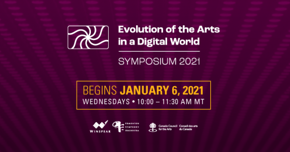 Link to Free Event | Announcing the Evolution of the Arts in a Digital World Symposium!
