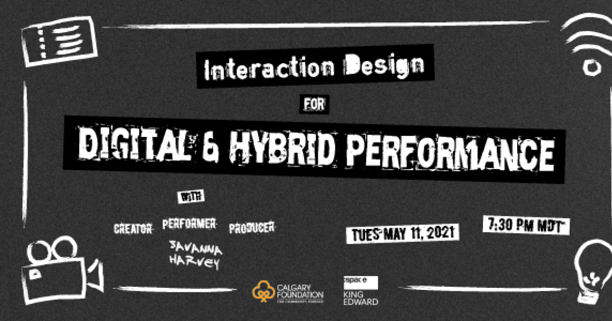 Interaction Design for Digital and Hybrid Performance: A Liveshow