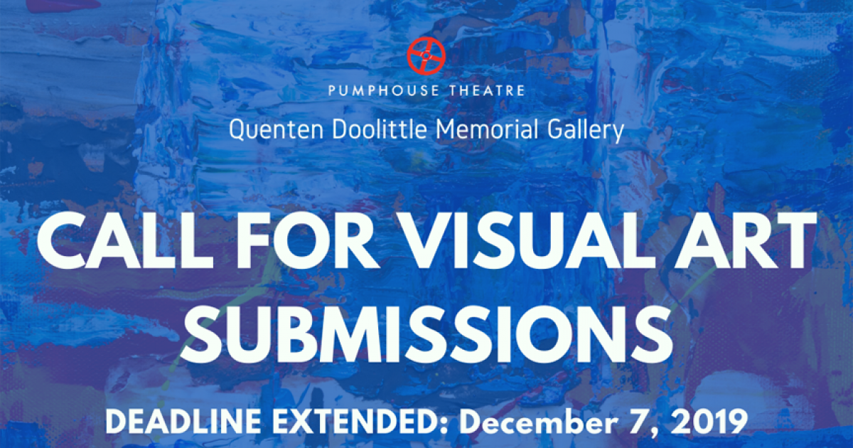 Link to Deadline Extended | Quenten Doolittle Memorial Gallery Winter 2020 Exhibit