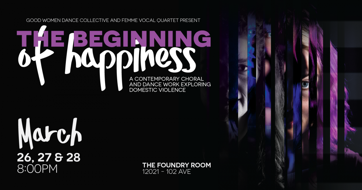 Link to CALL FOR VOLUNTEERS | Good Women Dance Collective + FEMME Present - The Beginning of Happiness March 26, 27, 28th 2020.