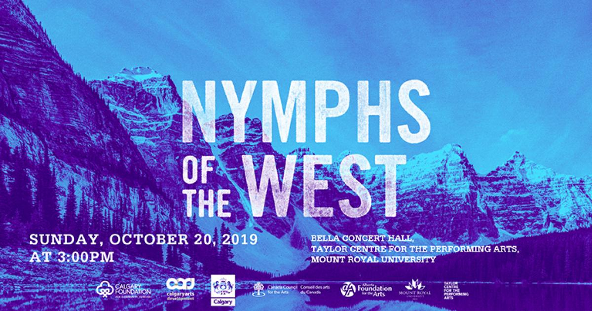 Link to Concert | Nymphs of the West