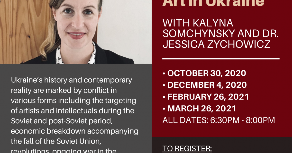 Feminism at the Intersection of Conflict: Contemporary Art in Ukraine Lecture Series