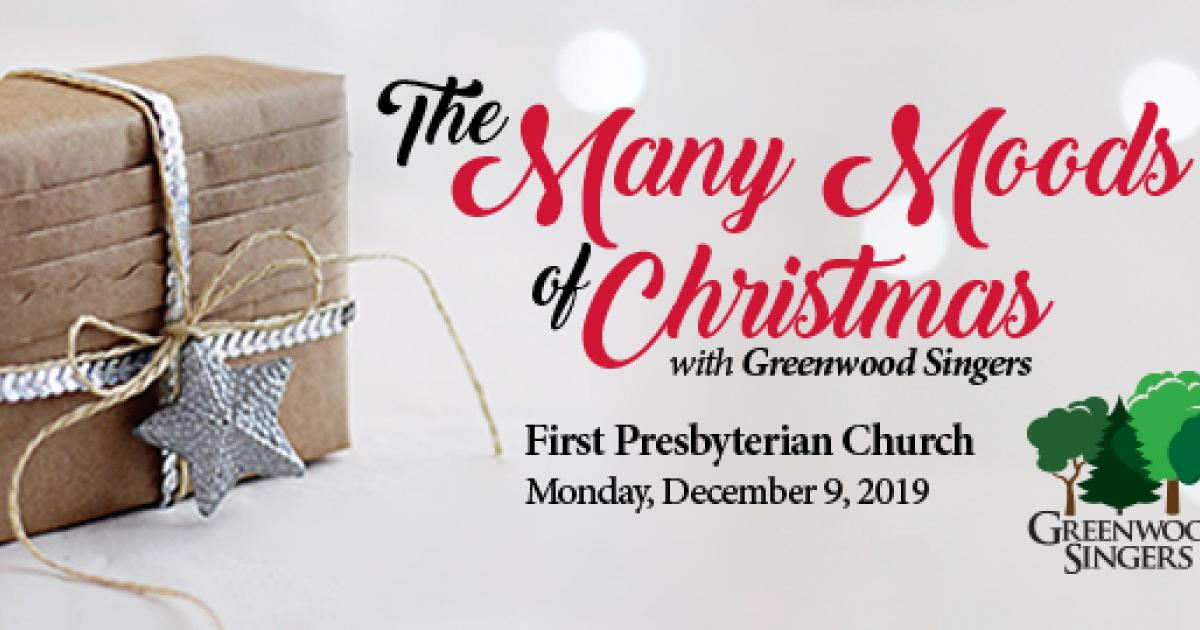 Link to The Many Moods of Christmas with Greenwood Singers