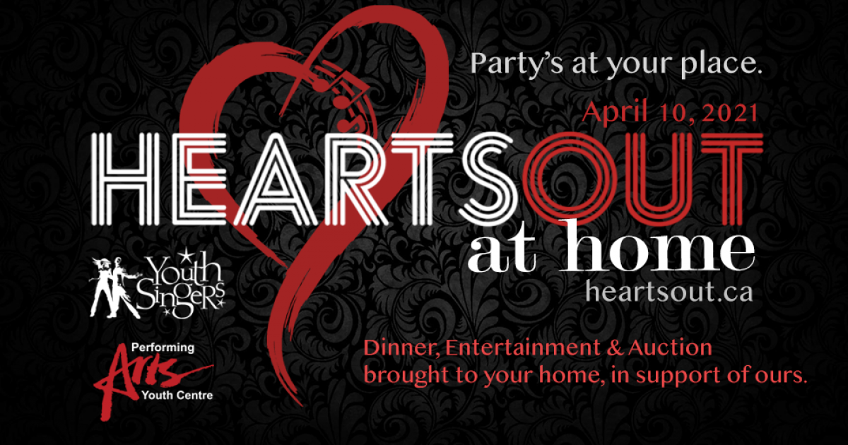 Link to Hearts Out at Home | Gala Fundraiser