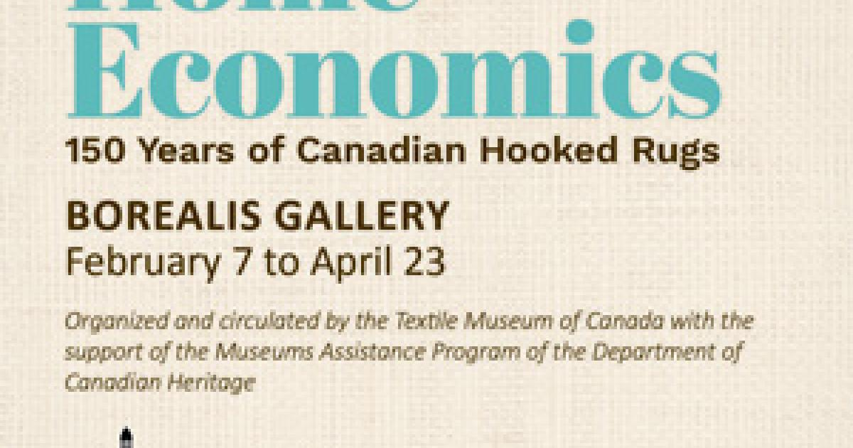 Link to Home Economics: 150 Years of Canadian Hooked Rugs