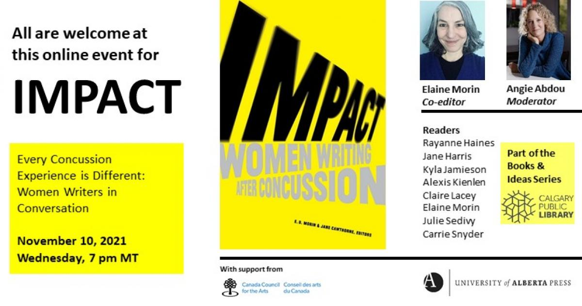 Link to Books & Ideas: Every Concussion Experience is Different. Women Writers in Conversation