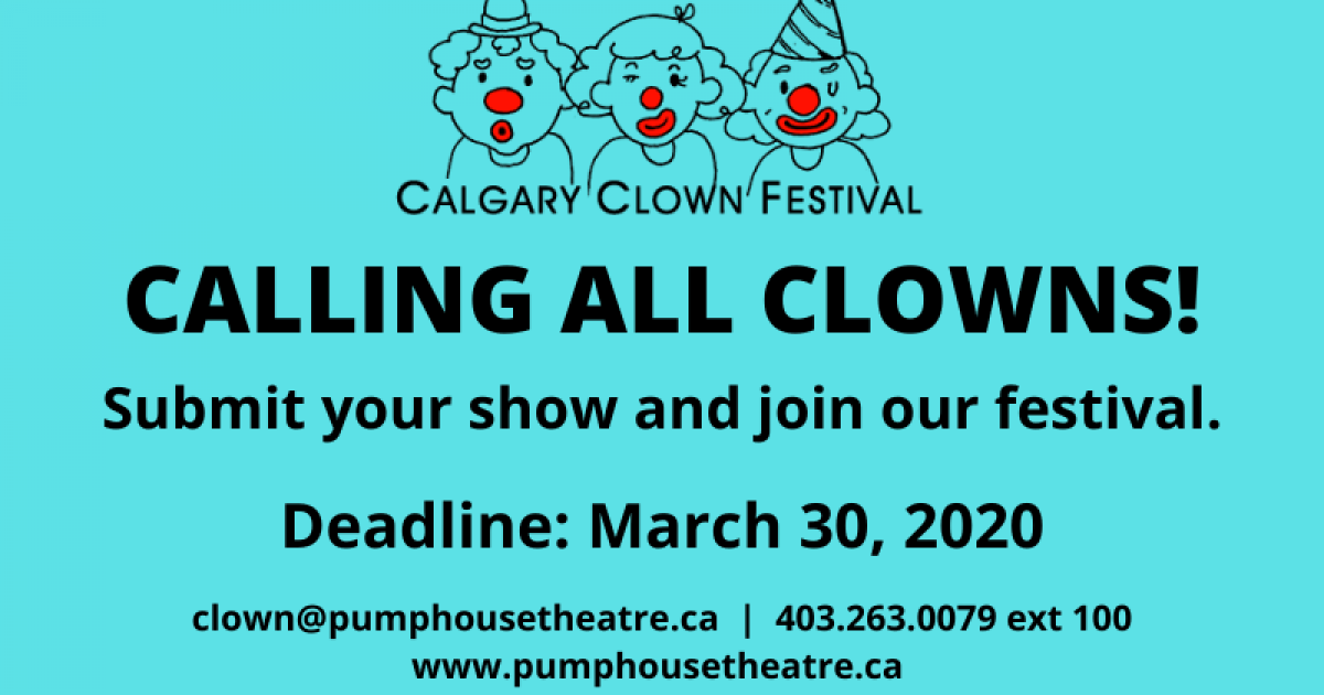 Link to Calgary Clown Festival | Submission Now Open!