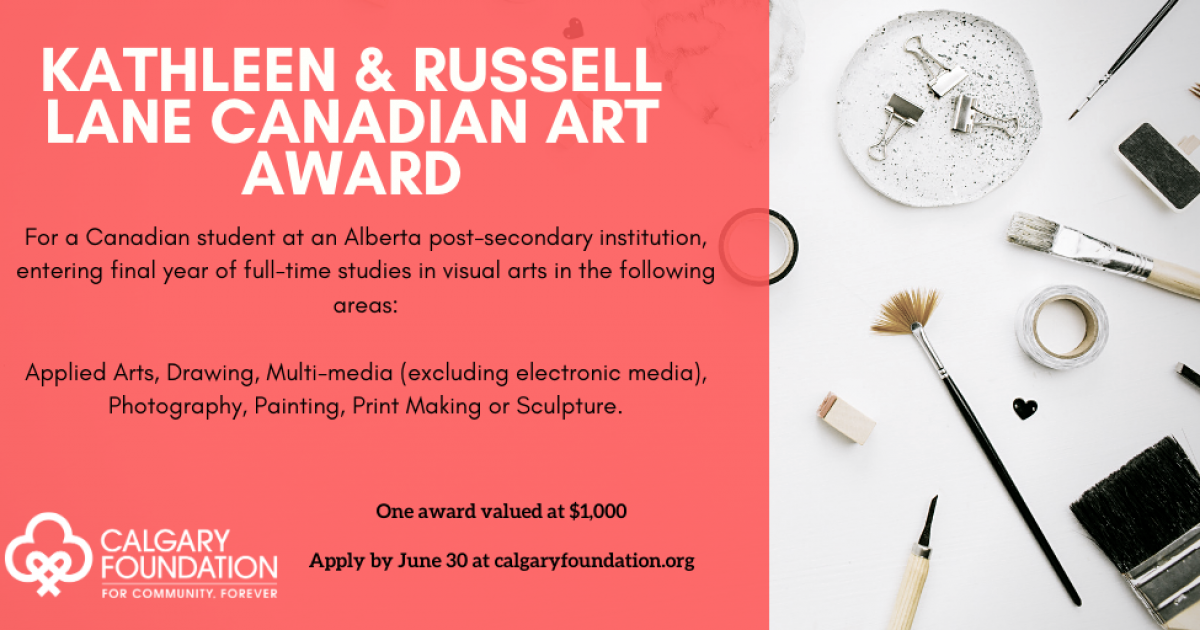 Link to The Kathleen & Russell Lane Canadian Art Award