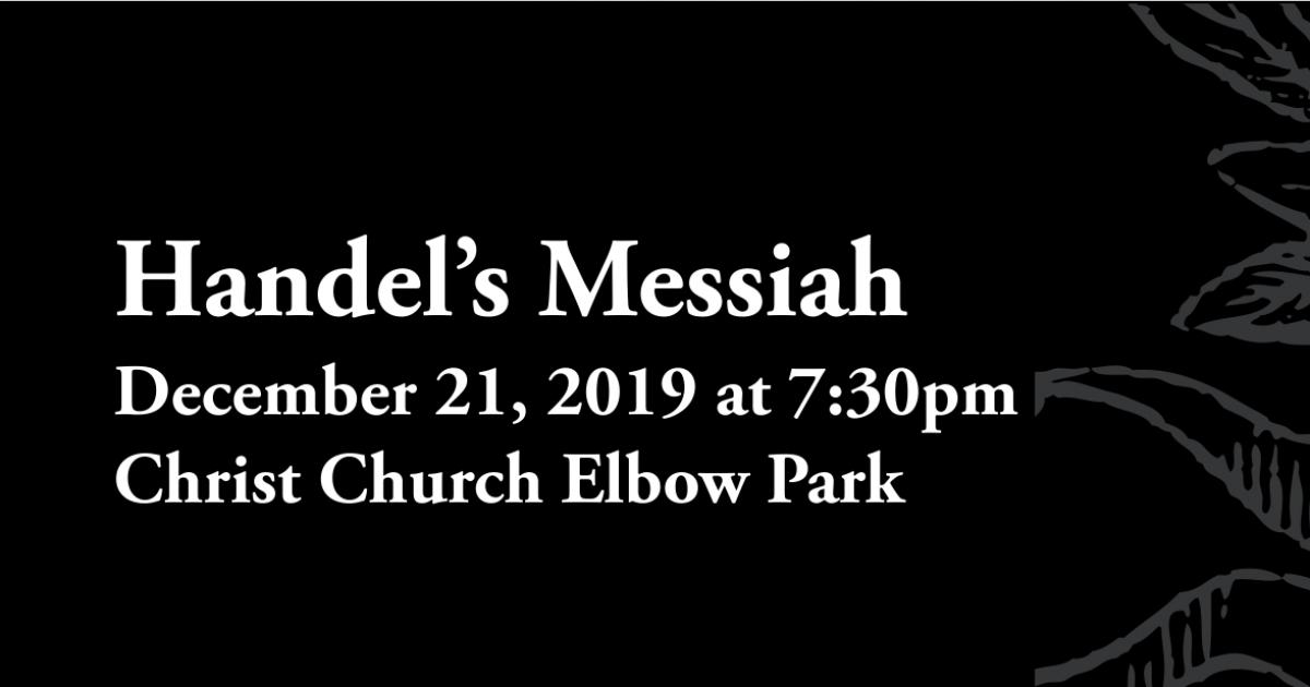 Link to Concert | Handel's Messiah