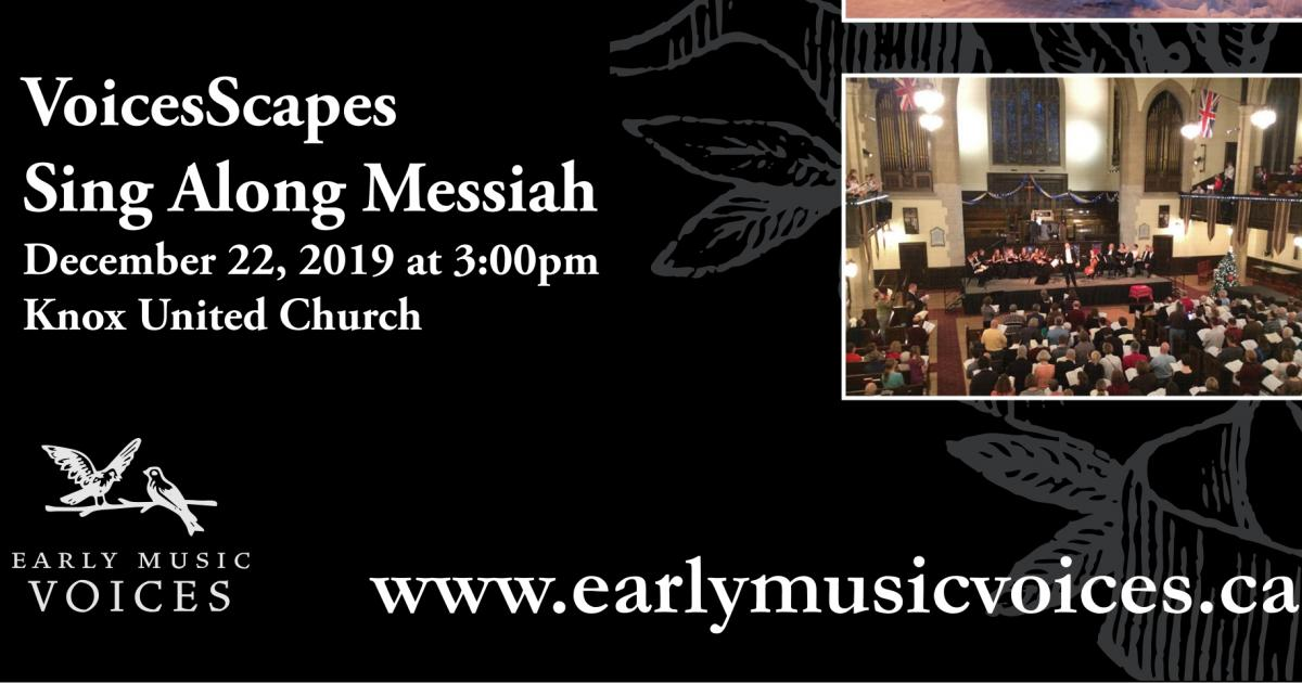 Link to Concert | VoiceScapes Sing-Along Messiah