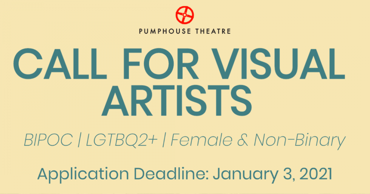 Link to Call for Visual Artists | Pumphouse Theatre