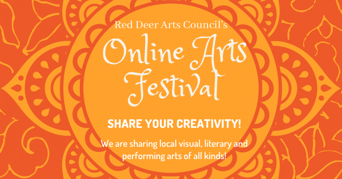 Link to Red Deer Arts Council's 2020 Online Arts Festival