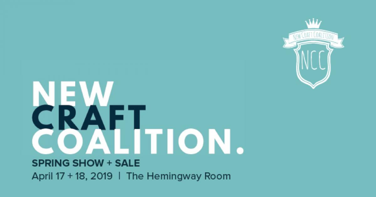 Link to Call to Artists | New Craft Coalition Spring Show + Sale