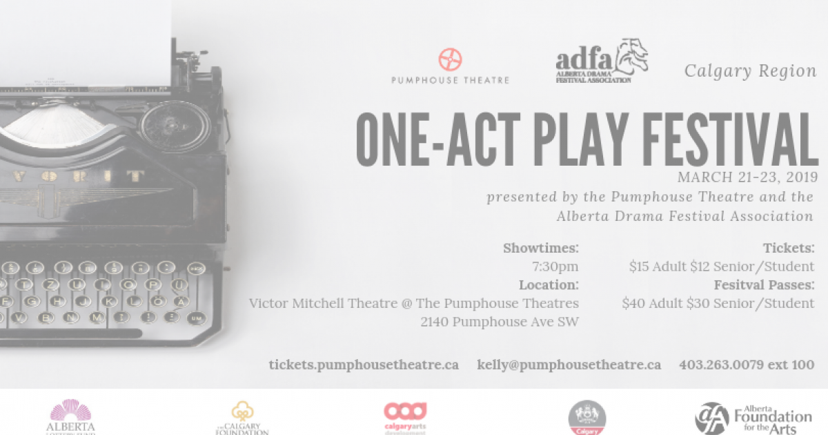 Link to ADFA Calgary Region One-Act Play Festival March 21-23, 2019