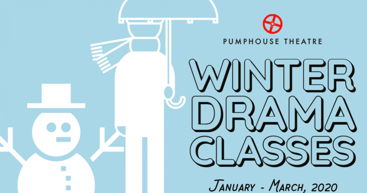 Link to Pumphouse Theatre Winter Youth Drama Classes